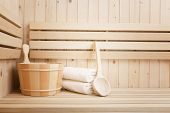 health and beauty treatment in sauna