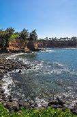 The Keolea Bay coast, Big Island