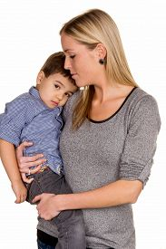 pic of stepmother  - mother and son symbol of love - JPG