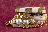 picture of jewelry  - Gold Jewelry Concept  - JPG
