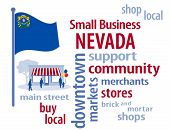 picture of local shop  - Small Business word cloud illustration - JPG