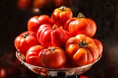 picture of plum tomato  - fresh tomatoes - JPG