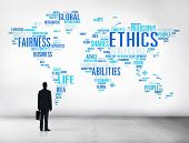 image of morals  - Ethics Ideals Principles Morals Standards Concept - JPG