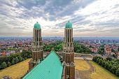 picture of church  - Catholic Minor Basilica and parish church in Brussels - JPG