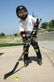Street Hockey Kid